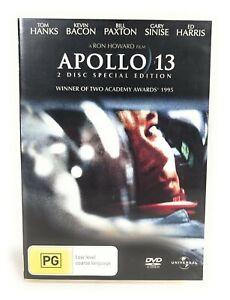Apollo 13 (DVD, 1995) 2 Disc Edition Tom Hanks Region 4 Free Postage
