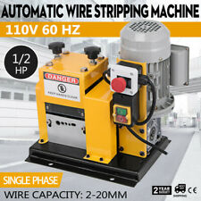 Electric Wire Stripping Machine Portable Powered Comercial 12hp Cable Stripper