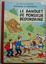 Sylvain et Sylvette Le Banquet de Monsieur Bedondaine PESCH Fleurus 1963