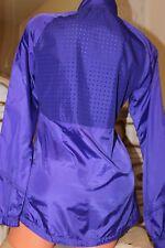 (RL 2) Adidas Violet Survêtement Haut d'un empiècement perforé à l'arrière Taille 10