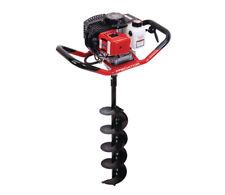 2 HP Gas Powered One Person Earth Auger 6 in. Diameter x 31 in. Long Bit 320 RPM