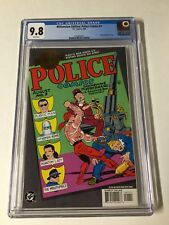 Millennium Edition Police Comics 1 Cgc 9.8 White Page 1st Plastic Man