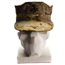 Genuine U.S army garrison cap MARPAT MC DESERT field military hat BDU patrol
