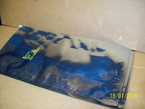 "LOT OF 100 ESD STATIC SHIELDING 9"" X 18"" anti static bags 8"" opening end. USED"