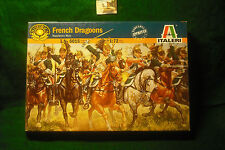 Soldatini Toy Soldiers Italeri French Dragoons Ref. 6015 plastica scala 1:72
