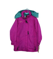 NOS Vtg 90s Columbia Womens Large Skiing Snowboard Hooded Winter Parka Jacket