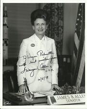 Maryon Allen - U.S. Senator Original Autographed 8x10 Signed Photo