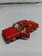 Tomy Tomica No. 17 Nissan Bluebird Turbo Red 1:64 Made in Japan Doors Open