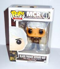 Funko pop vinyl figure Gerard Way Black Parade MCR Rare Vaulted New Boxed