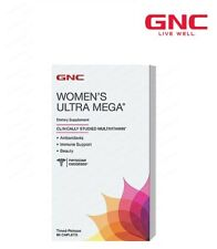 GNC WOMENS ULTRA MEGA Immune Health Support Antioxidant Heart 90caps