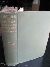 1899 The Life of Nelson Embodiment of Sea Power of Great Britain Folding Maps
