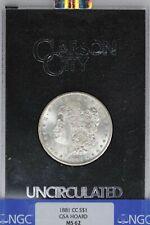 1881-CC NGC Silver Morgan Dollar GSA MS62 Blast White Carson City Coin
