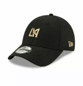 Los Angeles LA FC LAFC New Era 9TWENTY MLS Adjustable Strapback Hat Cap Soccer