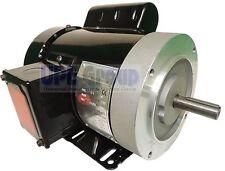3/4 HP Electric Motor 1750 RPM 1PH 56C Frame TEFC 115/230V General Purpose