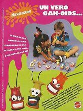 X2172 Gak-Oids - Mattel - Pubblicità 1994 - Advertising