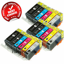 18 Pack PGI-220 CLI-221 ( w/Gray) Ink Cartridge For Canon PIXMA MP980 MP990