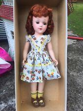 "Beautiful Near Mint Auburn Hair Mary Hoyer 14"" Hard Plastic Doll in Orig Box"