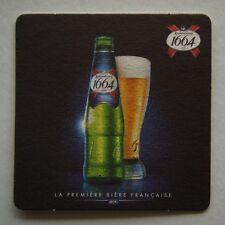 Kronenbourg 1664 La Premiere Biere Francaise Coaster (B256)