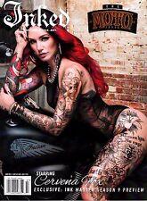 Inked Magazine July 2017 MOTO ISSUE, CERVENA FOX, Nikki Simpson, Jake Crawley