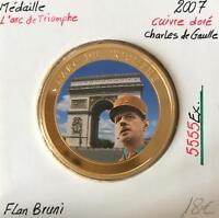 Médaille - L'Arc de Triomphe - 2007