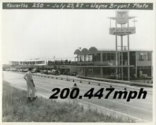 Mosport Park ESSO Control Tower 8x10 Photo USAC Stock Car 1967 Bowmanville Ont
