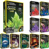 National Geographic STEM Science and Geology Kits - Crystals, Playsand, Gem Dig