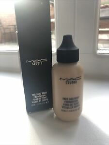 Brand New In Box Mac Face And Body Foundation N2 Neuatral 2 50ml