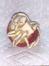 Harmony Kingdom Art Neil Eyre Designs Red black Lady bug ladybird book figure