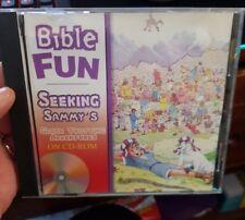Seeking Sammy's Globe Trotting Adventures- PC CD ROM - FREE POST