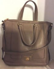 ~NWT~$548~MARC BY MARC JACOBS TURNLOCK LARGE TOTE~ ROOTBEER ~ LIGHT BROWN ~LOVE