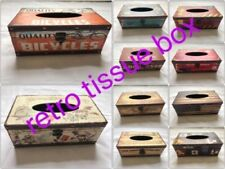 Retro Tissue Box Cover Paper Napkin Holder Case Home Room Car Hotel gift