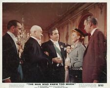 JAMES STEWART  DORIS DAY  THE MAN WHO NEW TOO MUCH 1956 VINTAGE LOBBY CARD #4