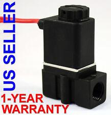 1/4 in NPT Gravity Feed 110V-120VAC Plastic Nylon Solenoid Valve Normally Closed