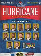 North Texas Mean Green vs Tulsa Golden Hurricane Football Program 11/30/13