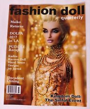 "WINTER 2017 ""DECADENCE"" Dining & Jewelry FASHION DOLL QUARTERLY FDQ MAGAZINE_NEW"