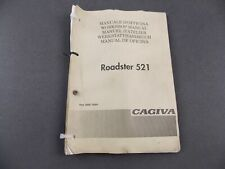 NEW CAGIVA 1985 OWNER/'S MANUAL BOOK ELEFANT 125 47329