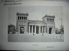 27522 Gruss aus  MÜNCHEN PROPYLÄEN Riesenansichtskarte AK 18x26cm big postcard