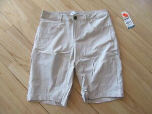 14J/WOOLRICH ADVENTURE SERIES SHORTS/TAN/POCKETS/ZIP CLOSURE/SIZE XS/NWT!