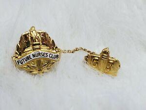 Future Nurses Club 63 Gold Plated Pin