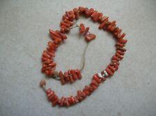 design intemporel 9166d a95e2 bijoux corail rouge ancien en vente | eBay