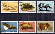 St Thomas y el príncipe 1981 Animales (27) Yvert n° 620 à 625 matasellado usados