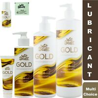 Wet Stuff GOLD Personal Sex Lubricant Pump Bottle Tube Sachet Toy Safe Lube