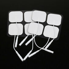 20pcs 4x4cm Electrodes Pads For Tens Therapy Massager Nerve Stimulator Tools