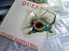 QUEEN vinyl single shaped PICTURE DISC. I'M GOING SLIGHTLY MAD  FREDDIE MERCURY