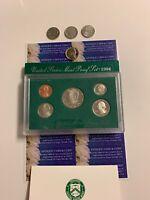 Proof Bonus /& Nickels EXC 1995 US Mint Proof Set 5 Gem Coins JFK Half w Box