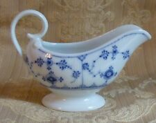 Royal Copenhagen Blue Fluted Sauce Boat Pitcher 308 1924-1950