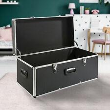 Arebos Aluminium/ABS Abschließbar Transportbox - Schwarz (AR-KK-TK100)