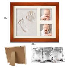 Baby Footprint Handprint Clay Photo Frame Kit Keepsake Shower Gift Christening