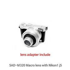 Macro Lens For Nikon J5 Series with 10-30mm lens