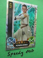 Topps Star Wars Das Erwachen der Macht Force Attax Rey Power Bonus 210
